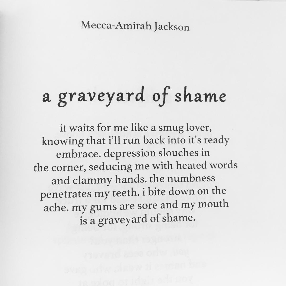 a graveyard of shame